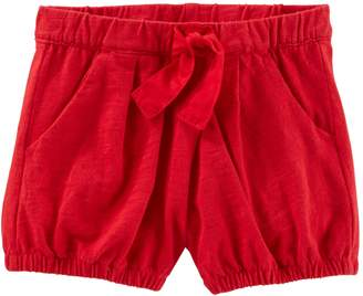 Osh Kosh Oshkosh Bgosh Baby Girl Pleated Bubble Shorts
