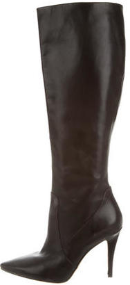 Via Spiga Leather Knee-High Boots $125 thestylecure.com