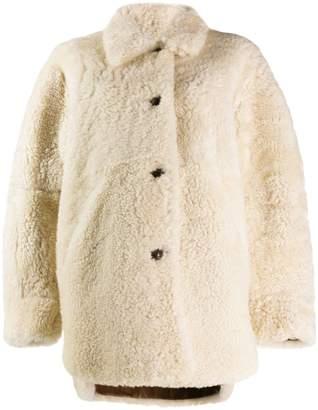 Isabel Marant Sarvey shearling coat