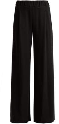 Goat Gable wool-crepe wide-leg trousers