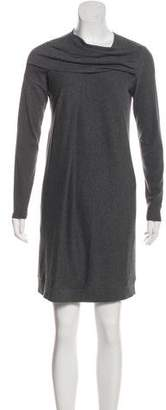 Brunello Cucinelli Knit Long Sleeve Dress