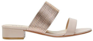 Jane Debster ENVY Blush /Rose Gold Sandal