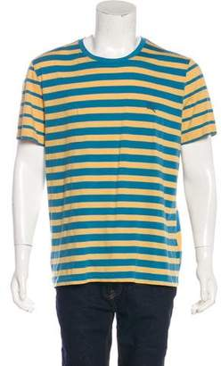 Burberry Striped Equestrian Knight Device T-Shirt w/ Tags