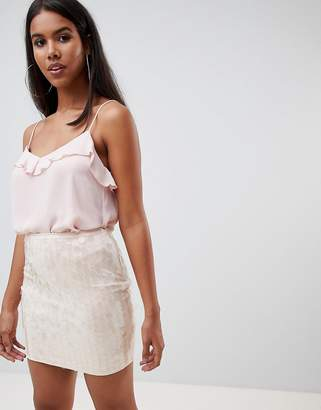 Rare London statement sequin mini skirt