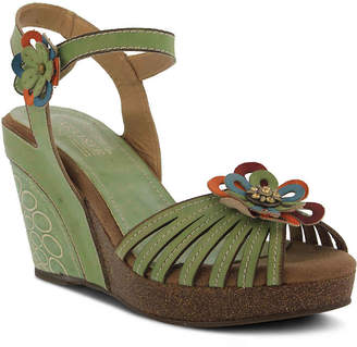 Spring Step L'Artiste by Honiepie Wedge Sandal - Women's
