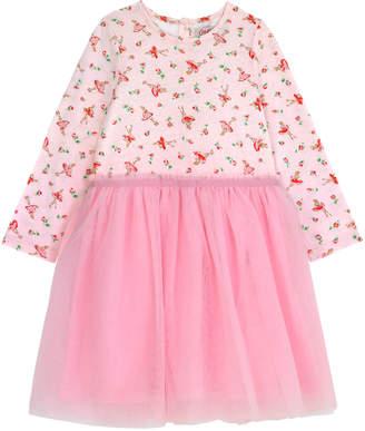 Cath Kidston Ballerina Rose Kids Jersey Net dress