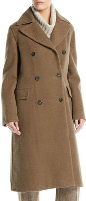 Loro Piana Double-Breasted Cashmere Coat
