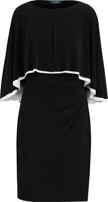 Ralph Lauren Jersey Cape Dress