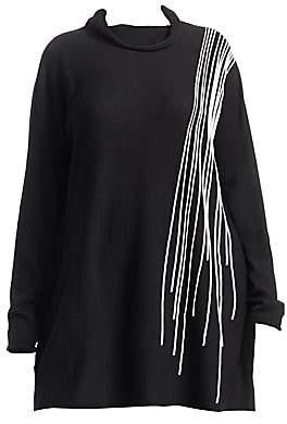 Marina Rinaldi Marina Rinaldi, Plus Size Marina Rinaldi, Plus Size Women's Fine Wool A-Line Sweater