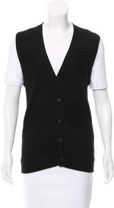 Rag & Bone Wool Button-Up Vest