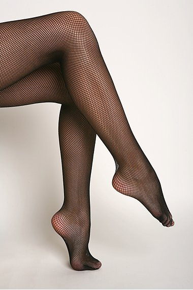 UO Fishnet Backseam Tights