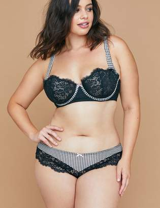 Lane Bryant Cheeky Panty with Lace