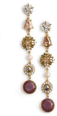 Badgley Mischka Crystal Drop Earrings