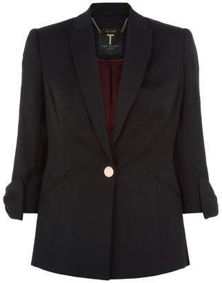 Ted Baker Toply Bow Detail Tailored Jacket