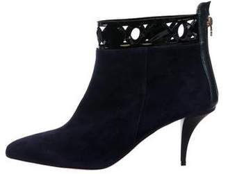 O Jour Suede Ankle Boots