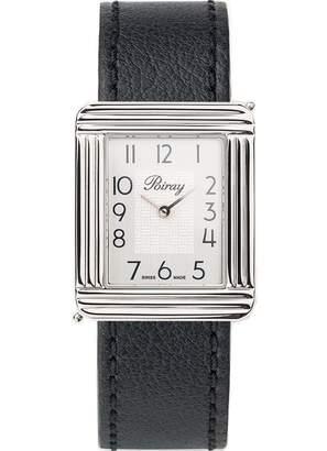 Poiray Ma Premiere Grand Modele Black Steel Watches