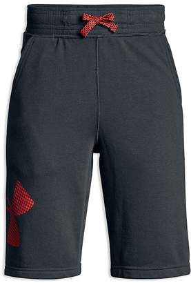 Under Armour Boys' French Terry Graphic Shorts - Big Kid