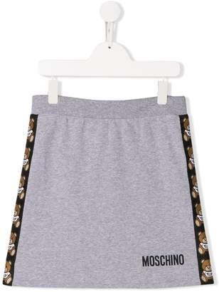 Moschino Kids TEEN jersey mini skirt