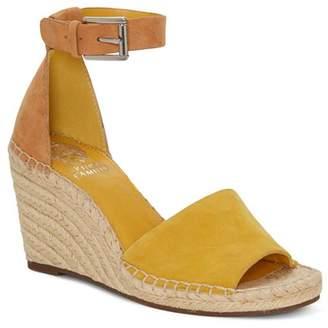 0ca39c84764 Vince Camuto Women s Leera Suede Espadrille Wedge Sandals