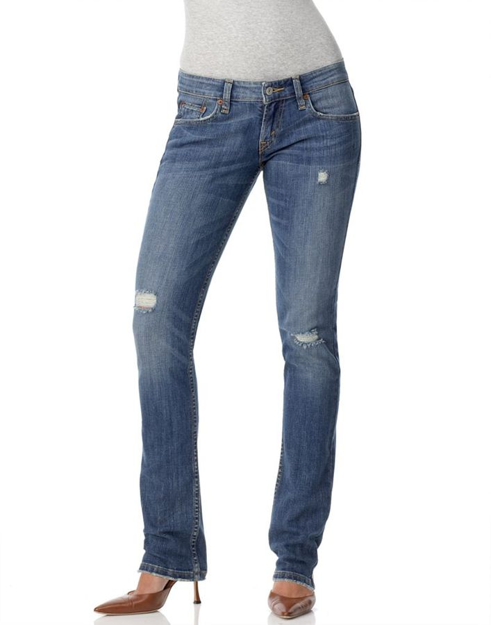 Levi's Red Tab 524 Too Superlow Skinny Jeans, Crush Wash