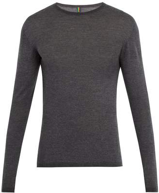 IFFLEY ROAD Dartmore crew-neck wool base-layer top