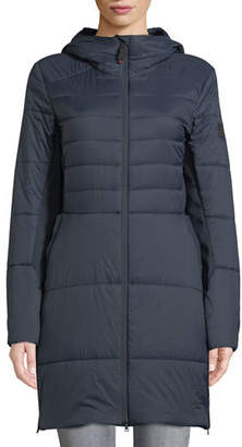 Bogner Jill Fitted Puffer Coat w/ Hood
