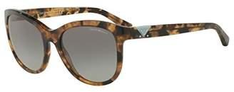 Giorgio Armani EA4076 Sunglasses 554011-56 - Frame, Grey Gradient