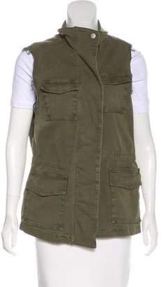 J Brand Woven Utility Vest