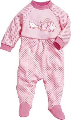 Playshoes Baby-Girls Overall Geese Sleepsuit,(Manufacturer Size:56)