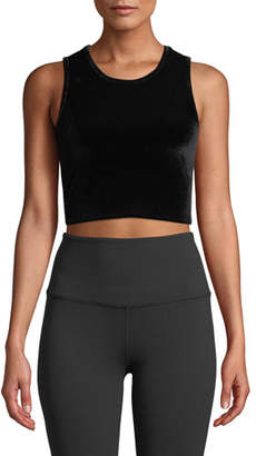 Beyond Yoga Velvet Motion Cropped Active Tank