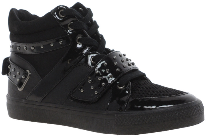 Asos DARE Studded High Top Sneakers