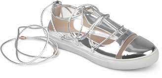 Journee Collection Harp Women's Ghillie Sneakers