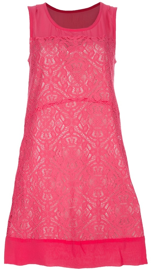 Marc By Marc Jacobs Lace shift dress