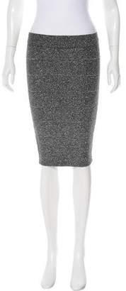 BCBGMAXAZRIA Metallic Bandage Skirt w/ Tags