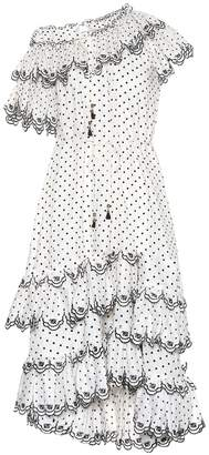 Zimmermann Jaya dotted linen dress