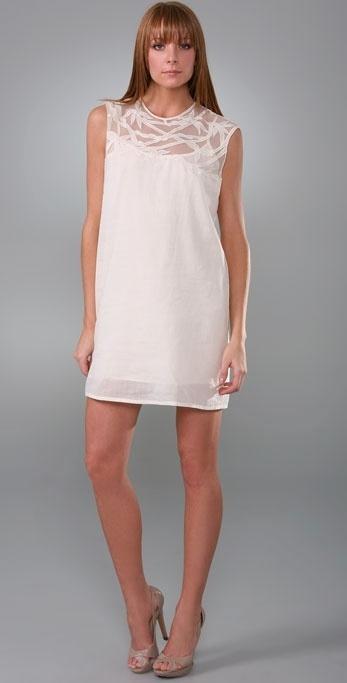 Rory Beca Embroidered Sleeveless Dress