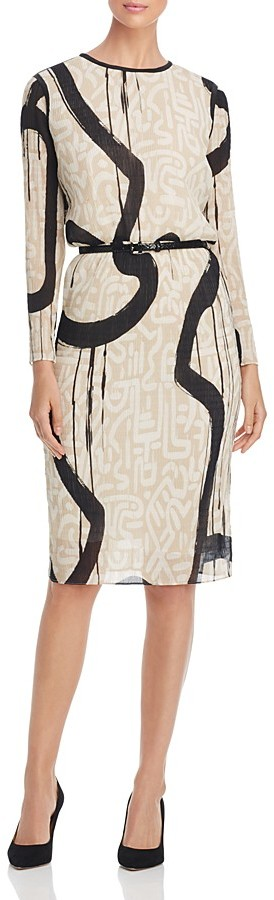 Max Mara Max Mara Bina Belted Dress
