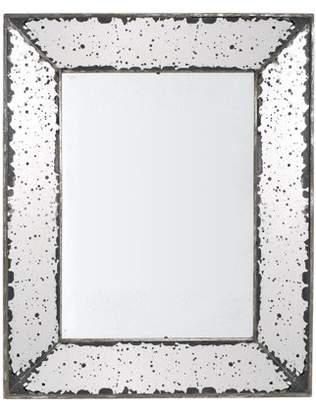 A&B Home Antique-Look Frameless Wall Mirror