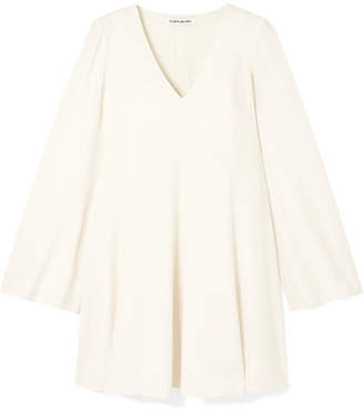 Elizabeth and James Bethany Crepe Mini Dress - Ivory