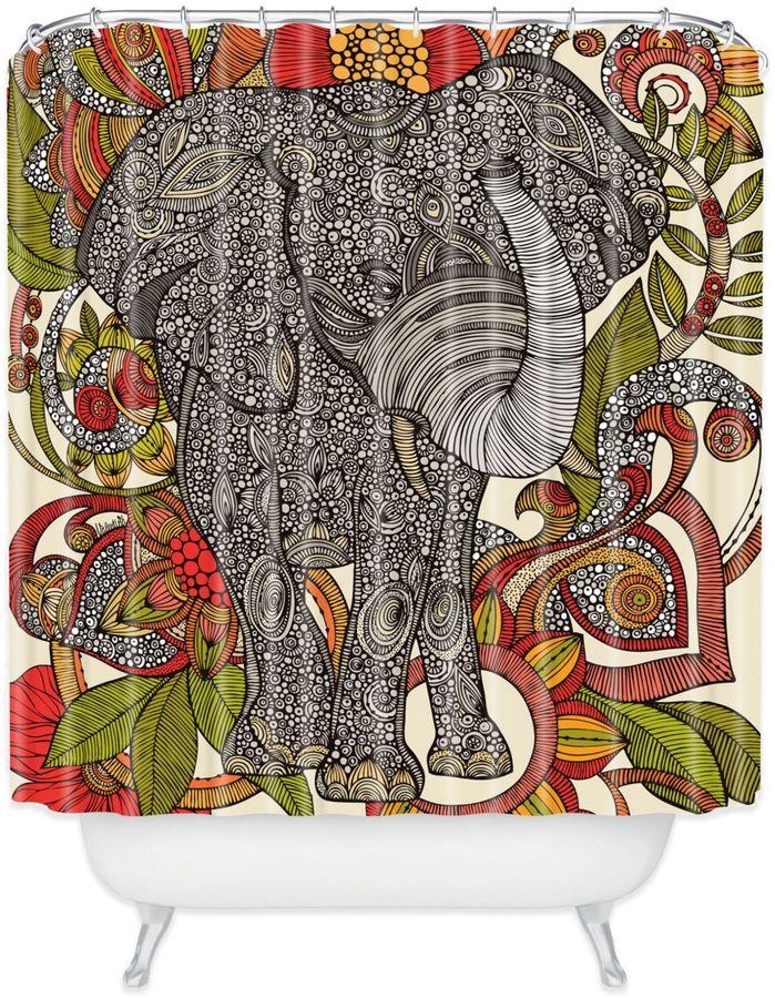 Bed Bath & BeyondValentina Ramos Bo The Elephant Shower Curtain
