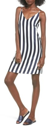 Women's Soprano Stripe Woven Shift Dress $45 thestylecure.com