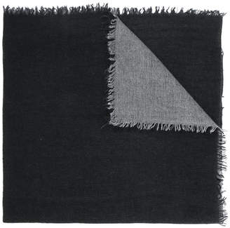 Faliero Sarti frayed edge shawl