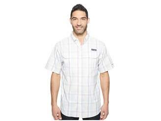 Columbia Super Low Dragtm Short Sleeve Shirt Men's Short Sleeve Button Up