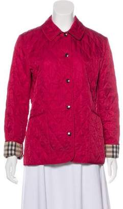 Burberry Quilted Nova-Lined Jacket