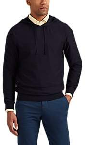 P. Johnson Men's Merino Wool Hoodie - Navy