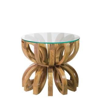 Santorini Imports Lotus Side Table