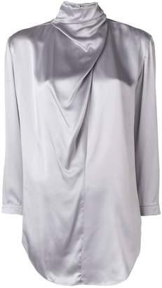 Nina Ricci draped blouse