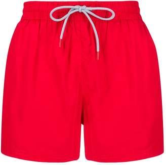 Fila side logo patch swim shorts