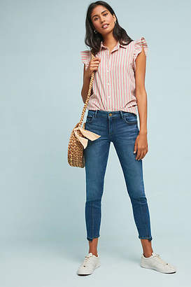 DL1961 Florence Instasculpt Mid-Rise Cropped Skinny Jeans