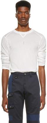 Jacquemus SSENSE Exclusive White Long Sleeve Le T-Shirt Yvan T-Shirt